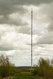 Telecommunications Mast Ariel Stock Photography