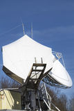 Telecommunications satellite dish Stock Images