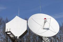 Telecommunications satellite dish Stock Photography