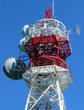 Telecommunications Tower Stock Photo