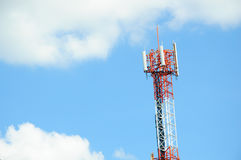 Telecommunications tower Stock Images