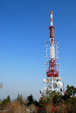 A telecommunications tower Royalty Free Stock Photo