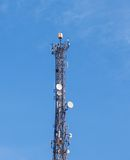 Telecommunications tower. Stock Photo