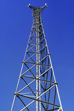 Telecommunications tower. For mobile and cell phone Stock Photos