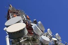 Telecommunications tower Stock Photos
