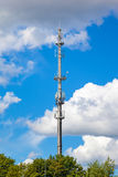 Telecommunications tower antenna Stock Photos