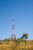 Telecommunications tower, Cuba Royalty Free Stock Image
