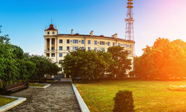 Telecommunications tower in Minsk, Belarus Royalty Free Stock Photography