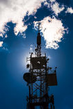 Telecommunications tower. Stock Images