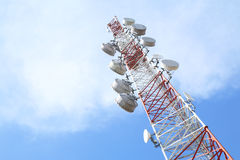 Telecommunications tower - Series 2 Royalty Free Stock Image