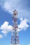 Telecommunications tower - Series 7 Royalty Free Stock Image