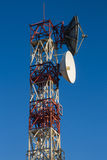 Telecommunications Tower - Torre de Telecomunicaciones Stock Photo