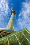 Telecommunications tower xian china Stock Images