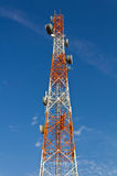 Telecommunications towers. Stock Image