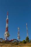 Telecommunications Towers Stock Image