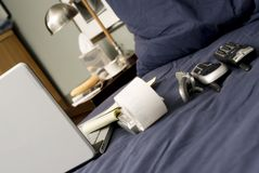Telecommuter's Morning Stock Images