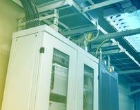 Telecoms server room Stock Photos