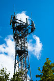 Telecoms Tower Royalty Free Stock Photography