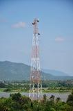 Telecomunicação Polo Imagem de Stock Royalty Free