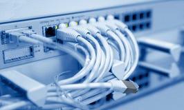 Telecomunicação prendida Foto de Stock