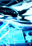 Telecomunicações médicas Imagens de Stock Royalty Free