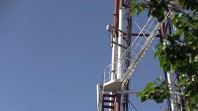 Telecomunicación G/M 5G, 4G, torre de la microonda 3G