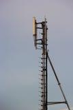 Telecomunicación móvil de poste de la comunicación. Foto de archivo libre de regalías