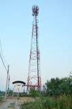Telecomunicación poste Fotografía de archivo