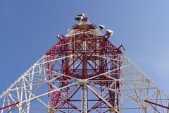 Telecomunicaciones Fotos de archivo libres de regalías
