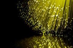 Telecomunicaciones amarillas abstractas. Imagen de archivo