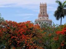 Telecomunicaciones La Habana del museo fotografía de archivo libre de regalías