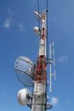 Telecomunication Kontrollturm stockfotografie