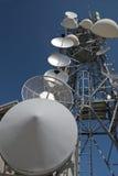 Telecomunication Kontrollturm Lizenzfreie Stockfotografie