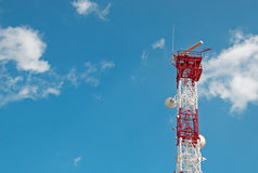Telecomunication tower Royalty Free Stock Image
