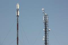 Telecomunications antennas royalty free stock image