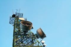 Telecomunications antennas royalty free stock photo