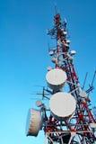 Telecomunications Antennen Lizenzfreie Stockfotos