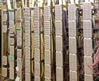 Telecomunications Distribution Frame Stock Image