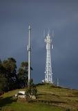 Telecomunications Kontrolltürme Lizenzfreie Stockfotografie