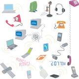 Telecomunicazione Fotografia Stock Libera da Diritti