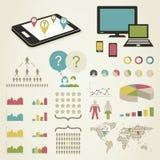 Telecomunicazione  Immagine Stock