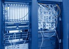Telecomunicazione globale - datacenter Fotografie Stock