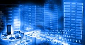 Telecomunicazione moderna Immagini Stock