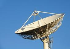 Telecomunicazione via satellite Immagini Stock