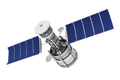 Telecomunicazioni via satellite Fotografia Stock Libera da Diritti