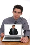 Teleconference Royalty Free Stock Image
