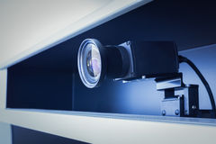 Teleconference- och telepresencekamera Fotografering för Bildbyråer