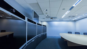 Teleconferencing, video conference and telepresence business mee Stock Images