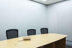 Teleconferencing, video conference and telepresence business mee Stock Photo