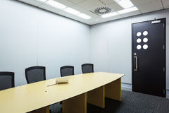 Teleconferencing, video conference and telepresence business mee Royalty Free Stock Photo